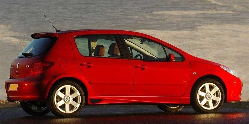 Dokładki Progów Peugeot 307 < AF > - GRUBYGARAGE - Sklep Tuningowy